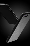 Mujjo Leather Case - кожен (естествена кожа) кейс за iPhone 8 Plus, iPhone 7 Plus (черен) 8