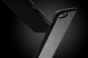 Mujjo Leather Case - кожен (естествена кожа) кейс за iPhone 8 Plus, iPhone 7 Plus (черен) 6