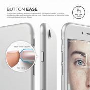 Elago Inner Core Case - тънък полипропиленов кейс (0.3 mm) и HD покритие за iPhone 8, iPhone 7 (бял) 6