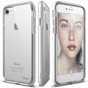 Elago Dualistic Case - хибриден кейс (поликарбонат + TPU) и HD покритие за iPhone 8, iPhone 7 (бял)