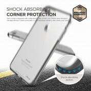 Elago S7 Cushion Case + HD Clear Film - силиконов калъф и HD покритие за iPhone 8 Plus, iPhone 7 Plus (прозрачен) 5