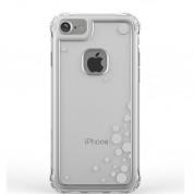 Ballistic Jewel Essence Case - хибриден удароустойчив кейс за iPhone 8, iPhone 7 (прозрачен със сребърни точки) 1