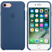 Apple Silicone Case for iPhone 8, iPhone 7 (ocean blue) 5