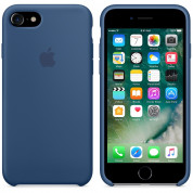 Apple Silicone Case for iPhone 8, iPhone 7 (ocean blue) 4