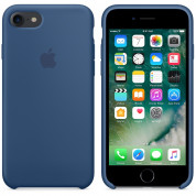 Apple Silicone Case for iPhone 8, iPhone 7 (ocean blue) 2