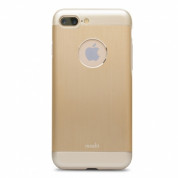 Moshi iGlaze Armour for iPhone 8 Plus, iPhone 7 Plus (gold)