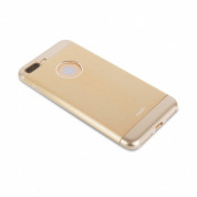 Moshi iGlaze Armour - удароустойчив алуминиев кейс за iPhone 8 Plus, iPhone 7 Plus (златист) 4
