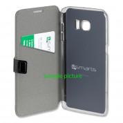 4smarts Supremo Book Flip Case - кожен калъф с поставка и отделение за кр. карта за Samsung Galaxy S7 (черен) 3