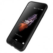 Verus Simpli Fit Case - удароустойчив силиконов калъф за iPhone 8, iPhone 7 (черен) 4