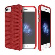 Prodigee Breeze Case - хибриден удароустойчив кейс за iPhone 8, iPhone 7 (червен)