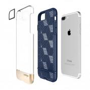 Prodigee Stencil Case - хибриден удароустойчив кейс за iPhone 8 Plus, iPhone 7 Plus (тъмносин) 1