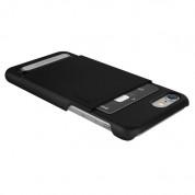 Verus Simpli Leather Case - кожен кейс с поставка и джоб за кредитна карта за iPhone 8, iPhone 7 (черен) 1
