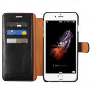 Verus Dandy Layered Case - кожен калъф, тип портфейл за iPhone 8, iPhone 7 (черен) 2