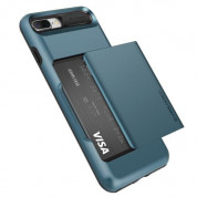 Verus Damda Glide Case for iPhone 8 Plus, iPhone 7 Plus (steel blue) 3