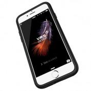Verus Damda Glide Case - висок клас хибриден удароустойчив кейс с място за кр. карти за iPhone 8 Plus, iPhone 7 Plus (син) 5