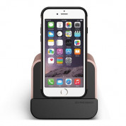 Verus i-Depot Cradle - универсална док станция за iPhone, iPad и мобилни устройства с microUSB (розово злато) 3