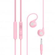 Devia Ripple D2 - слушалки с микрофон и управление на звука за мобилни устройства (розов)