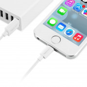TeckNet P301 Apple MFi Certified Lightning to USB Cable 3m. - изключително здрав и качествен Lightning кабел за iPhone, iPad, iPod с Lightning (3 метра) (бял) 3