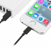 TeckNet P010 Apple MFi Certified Lightning to USB Cable 10 cm. - изключително здрав и качествен Lightning кабел за iPhone, iPad, iPod с Lightning (10 см.) (черен) 3