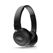 JBL T450 BT - безжични Bluetooth слушалки с микрофон за мобилни устройства (черен)