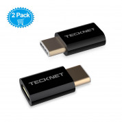 TeckNet TF001 USB-C Male to MicroUSB 2.0 Female Adapter 1