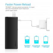 TeckNet iEP1200 PowerWave W2 13000mAh Power Bank - качествена външна батерия 13000mAh с 2xUSB за смартфони и таблети (черен) 6