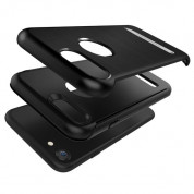 Verus Duo Guard Case - висок клас хибриден удароустойчив кейс за iPhone 8, iPhone 7 (черен) 5