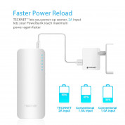 TeckNet iEP1500 PowerZen 16750mAh Power Bank with BLUETEK (white) 7