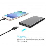 TeckNet iEP1000 PowerCrest C1 10000mAh External Battery Power Bank - качествена външна батерия 10000mAh с 2xUSB за смартфони и таблети (черен) 4