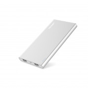TeckNet iEP1000 PowerCrest C1 10000mAh External Battery Power Bank - качествена външна батерия 10000mAh с 2xUSB за смартфони и таблети (сребрист)