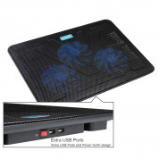TeckNet N8 Laptop Cooling Pad with 3x11.8cm Silent Fans 2
