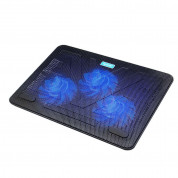 TeckNet N8 Laptop Cooling Pad with 3x11.8cm Silent Fans 5