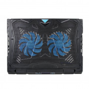 TeckNet N9 Laptop Cooling Pad with 2x13cm Silent Fans 4