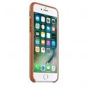 Apple iPhone Leather Case - оригинален кожен кейс (естествена кожа) за iPhone 8, iPhone 7 (кафяв) 1
