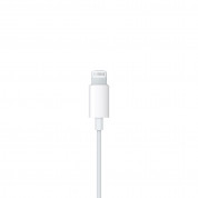 Apple Earpods with Lightning Connector - оригинални слушалки с управление на звука и микрофон за iPhone X, XS, XS Max, XR, iPhone 8, iPhone 7 (модел 2016г.) (retail опаковка) 5
