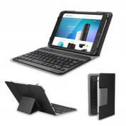 TeckNet X370 Bluetooth Folio Universal Keyboard Case for All Models of Tablets up to 8 Inches