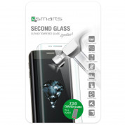 4smarts Second Glass Curved Rim 2.5D for iPhone 8, iPhone 7 (silver) 3