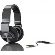 AKG K545 High performance over-ear headphones - аудиофилски слушалки с микрофон и управление на звука за мобилни устройства (черен) 3
