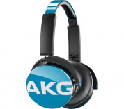 AKG Y50 On-Ear Headphones with in-line one-button universal remote / mic (teal) 1