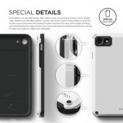 Elago Armor Case + HD Professional Screen Film for iPhone SE (2020), iPhone 8, iPhone 7 (white) 5