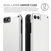 Elago Armor Case + HD Professional Screen Film for iPhone SE (2020), iPhone 8, iPhone 7 (white) 6