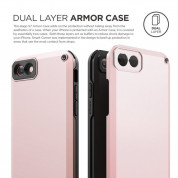Elago Armor Case + HD Professional Screen Film for iPhone SE (2020), iPhone 8, iPhone 7 (lovely pink) 6