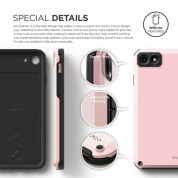 Elago Armor Case + HD Professional Screen Film for iPhone SE (2020), iPhone 8, iPhone 7 (lovely pink) 7