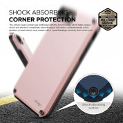 Elago Armor Case + HD Professional Screen Film for iPhone SE (2020), iPhone 8, iPhone 7 (lovely pink) 3