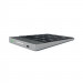 Satechi Slim Aluminum Wireless Keypad - безжична Bluetooth клавиатура с 18 бутона за MacBook (тъмносива) 4