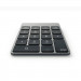 Satechi Slim Aluminum Wireless Keypad - безжична Bluetooth клавиатура с 18 бутона за MacBook (тъмносива) 5