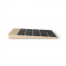Satechi Slim Aluminum Wireless Keypad - безжична Bluetooth клавиатура с 18 бутона за MacBook (златиста) 3