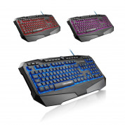 TeckNet X702 LED Illuminated Gaming Keyboard - геймърска клавиатура с LED подсветка (за PC) 2