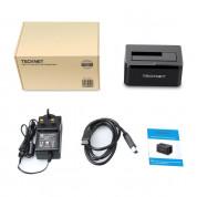 TeckNet UD027 USB 3.0 Hard Drive Docking Station - докинг станция за твърди дискове с USB 3.0 6