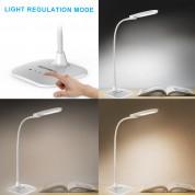 TeckNet LED06 10W EyeCare LED Desk Lamp with Built-in Battery - настолна LED лампа с вградена батерия и тъч контрол   6